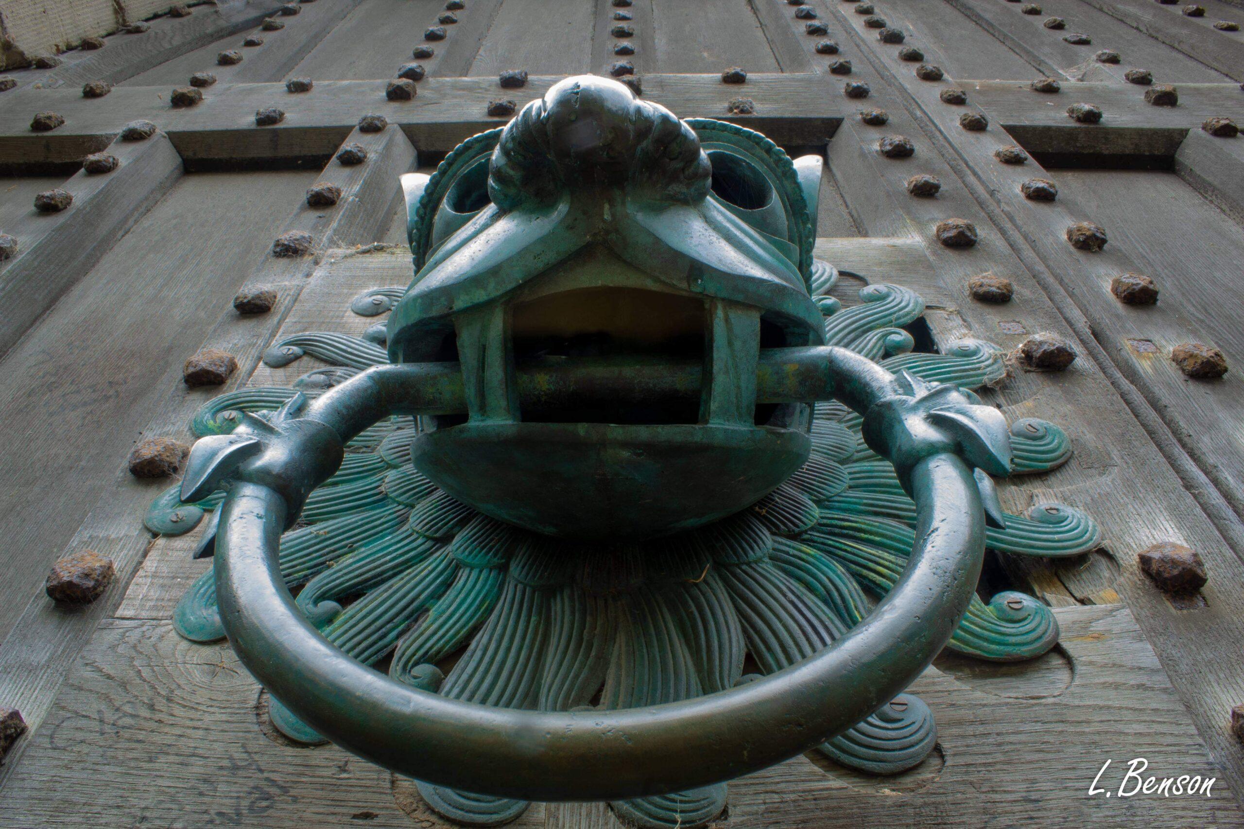 Brougham Hall door knocker